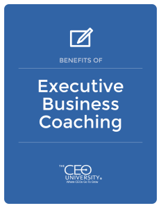 benefits of executive business coaching