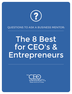 Questions to Ask a Business Mentor