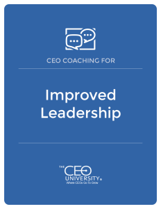 CEO Coaching