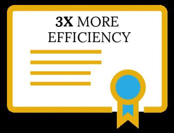 3xMoreEfficient